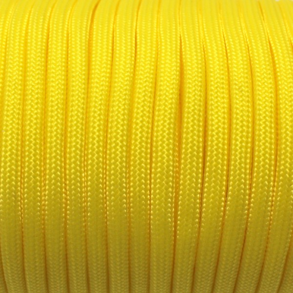 Paracord - 50 mtr. Rolle, gelb