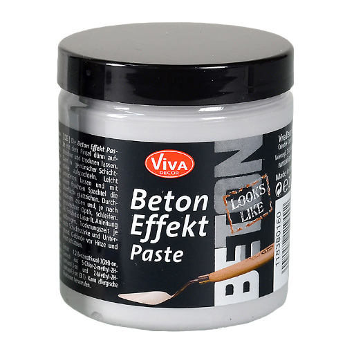 beton paste 250ml kreativ depot. Black Bedroom Furniture Sets. Home Design Ideas