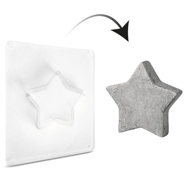 Giessform Stern Schale 22 cm
