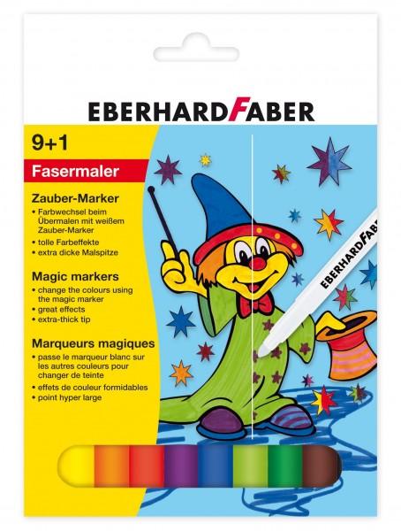 EBERHARD FABER Zauber-Marker, 9 + 1 Farben