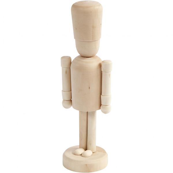 Holz-Figur Nussknacker - 18 cm