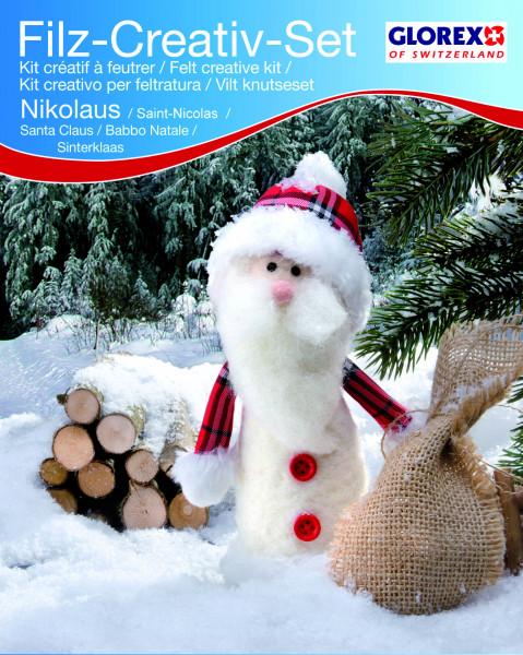 Filz-Bastelset Nikolaus