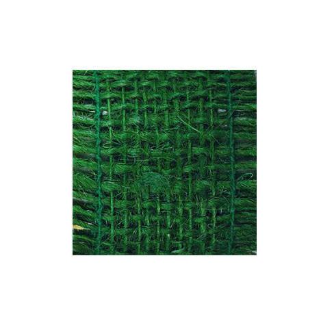 Juteband, 50mm, Länge 2m - dunkelgrün