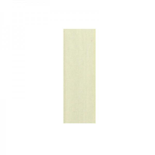 Chiffonband, 6mm breit, 10m lang - creme