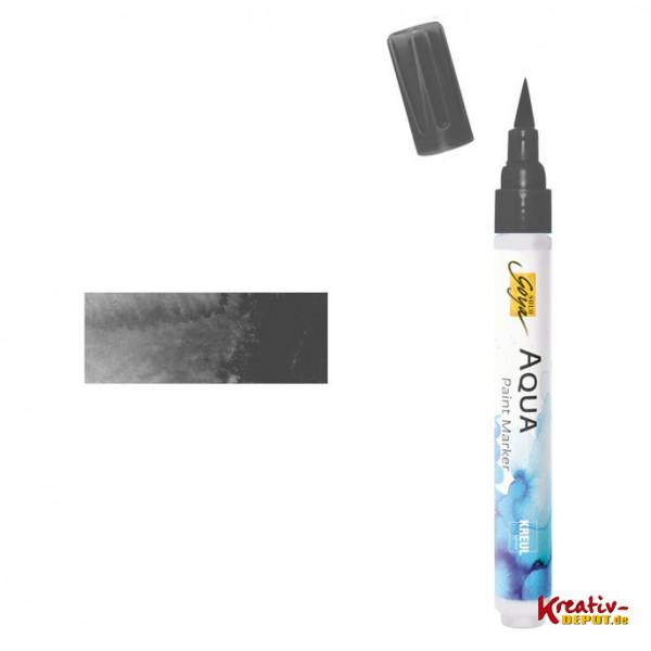 Aqua Paint Marker - Schwarz