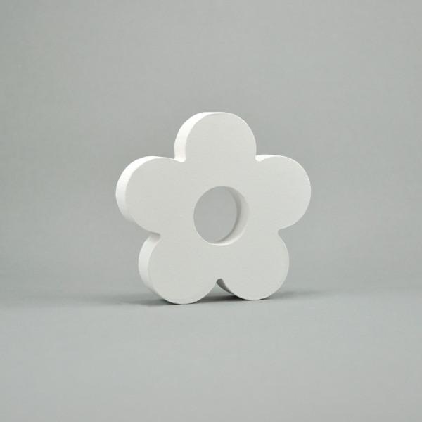 "MDF- Symbole ""Blume"", weiß"