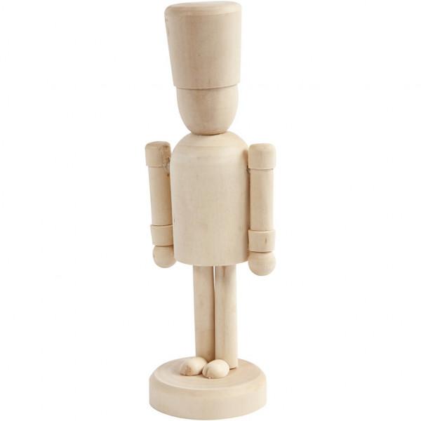 Holz-Figur Nussknacker - 13 cm