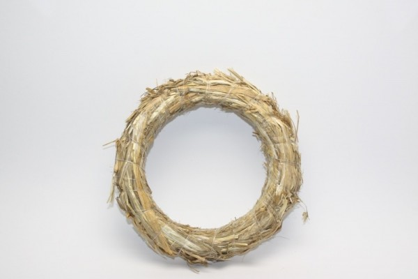Strohkranz, Ø 20 cm, Stärke ca. 4 cm