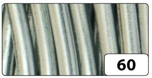 Aluminiumdraht, 2 mm Ø, 5 m, silber