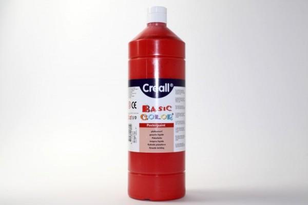 Basic-color, Schultempera, 1000 ml, hellrot