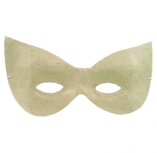 dècopatch Maske, aus Pappmaché, 2x21x11 cm