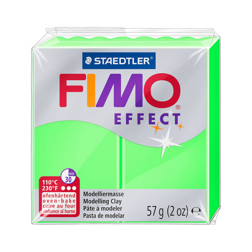 FIMO effect, Modelliermasse, 57 g, Neon Grün