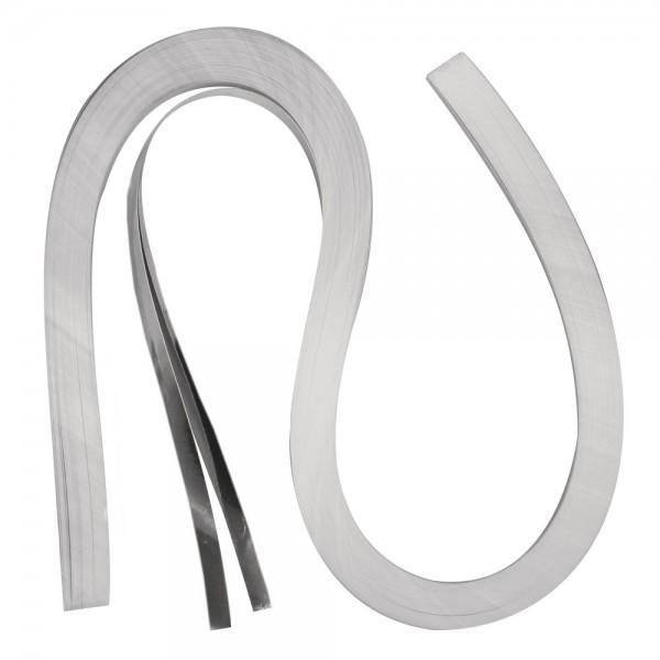 Quilling Papierstreifen / Folie, 6mm x 530mm, silber