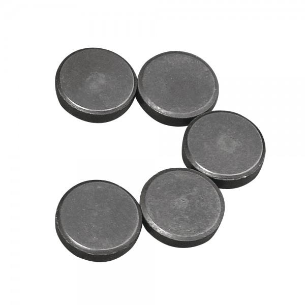 Magnet, 20 mm ø, Stärke 5 mm, 5 Stück