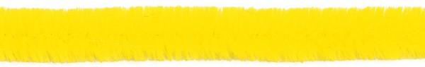 Biegeplüsch/Pfeifenputzer, 30 cm x 12 mm Ø, 8 St, gelb