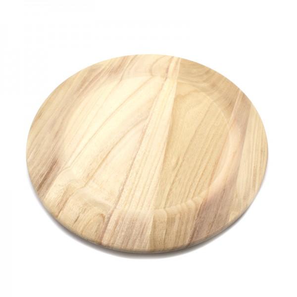 Holzteller, Ø 30 cm