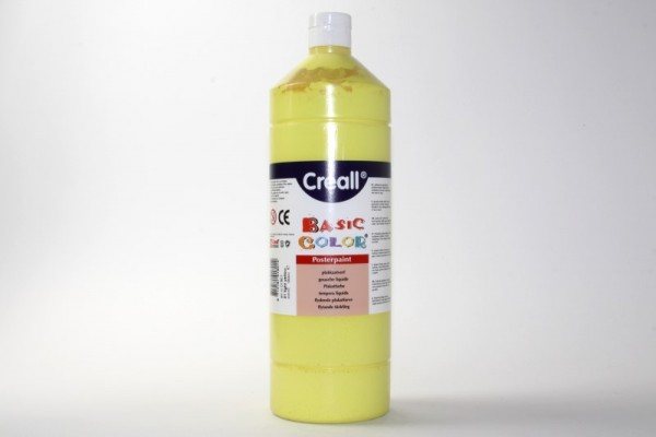 Basic-color, Schultempera, 1000 ml, primärgelb