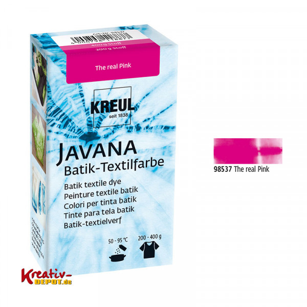 Javana Batik Textilfarbe 70g - The real Pink