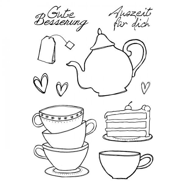 Clear Stamps - Tee / Kaffee