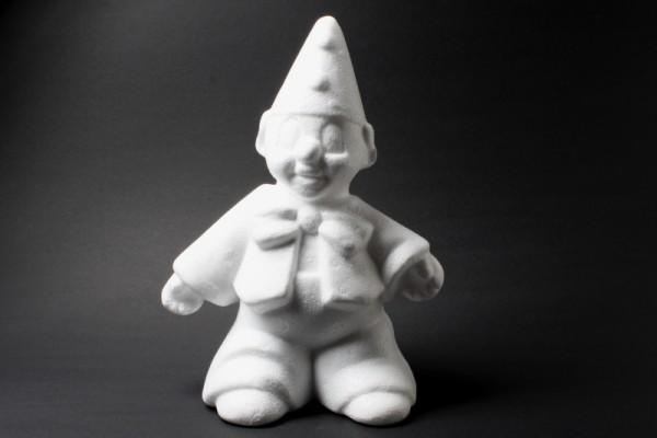 Styropor-Clown, 15 cm