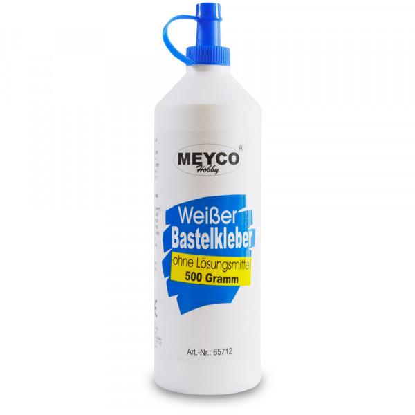 Weißer Bastelkleber, ohne Lösungsmittel, 500 g Flasche