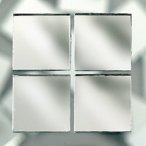 Spiegelmosaik, 500 g, 10x10x3 mm