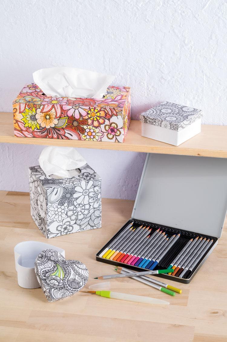 Doodle Art Boxen