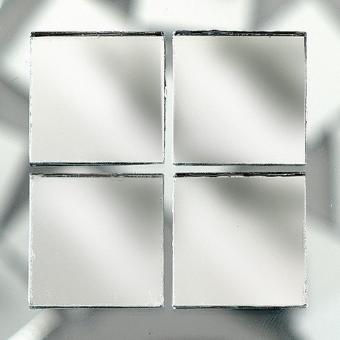 Efco Mosaik Glasstein pro, 10 x 10 mm, Spiegel