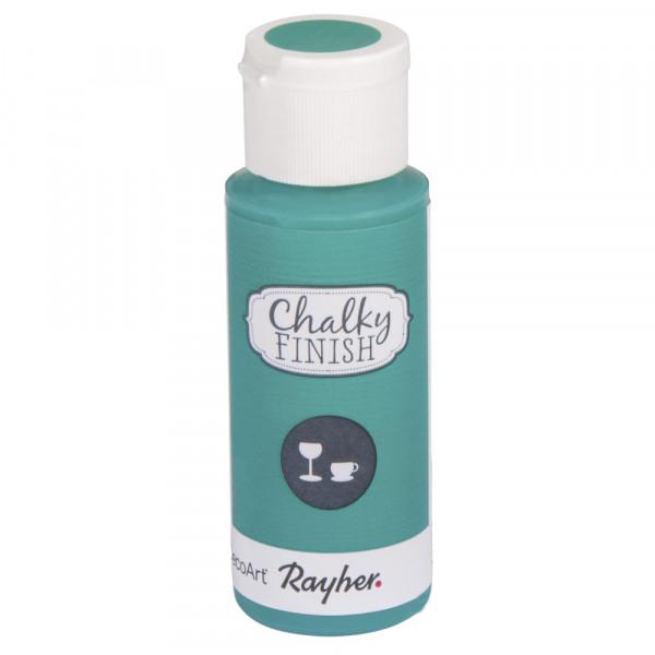 Chalky-Finish Kreidefarbe für Glas 59 ml - meergrün-Copy