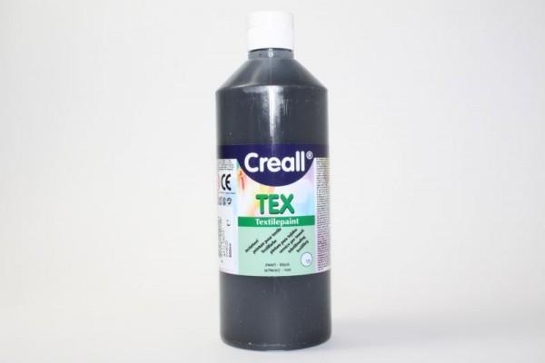 Creall-TEX, Textilfarbe, 500 ml, Schwarz