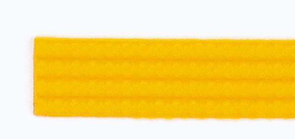 Wachsperlstreifen, 2mm, 20cm, 11 Stk., sonnengelb