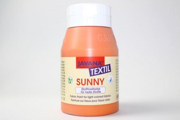 JAVANA TEXTIL SUNNY, für helle Stoffe, 500 ml, Orange