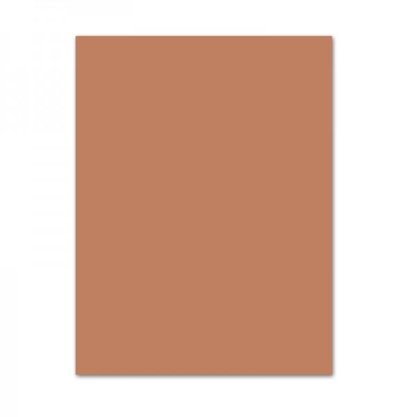 Tonpapier, 10er Pack, 130 g/m², 50x70 cm, hellbraun