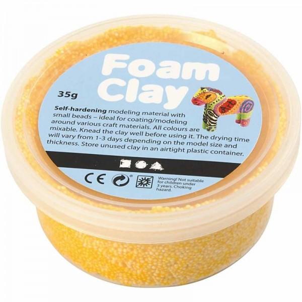Foam Clay - Gelb, 35g