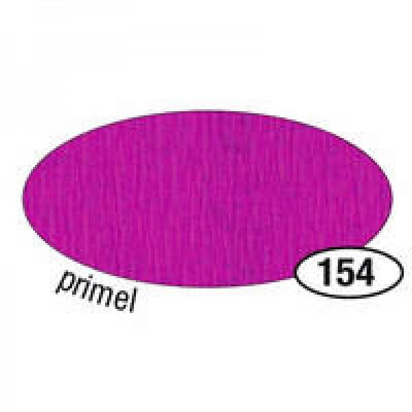 Krepppapier, 50 cm x 2,5 m, primel