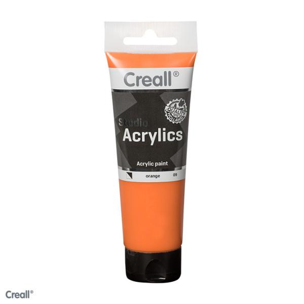 Creall-studio Acrylfarbe, 250 ml, Orange