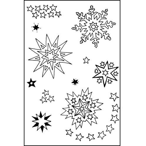Clear Stamps - Sterne