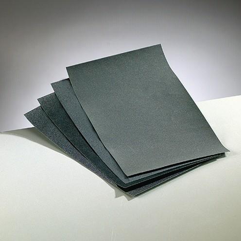 Nass-Schleifpapier, 4 Bögen in verschiedenen Körnungen