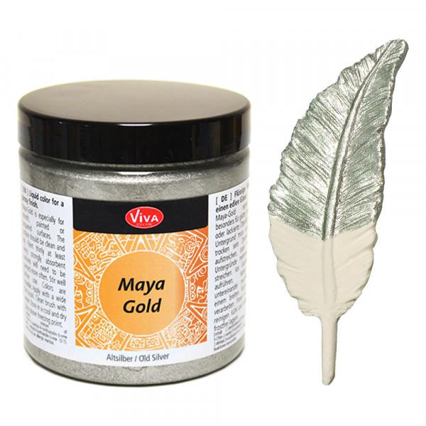 Viva Decor Maya-Gold, 250 ml, Altsilber