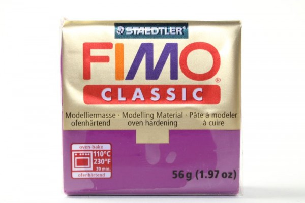 FIMO classic, Modelliermasse, 56 g, Violett