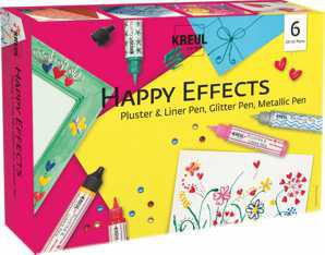 "Kreul Pen Set ""Happy Effects"" 6er Set"