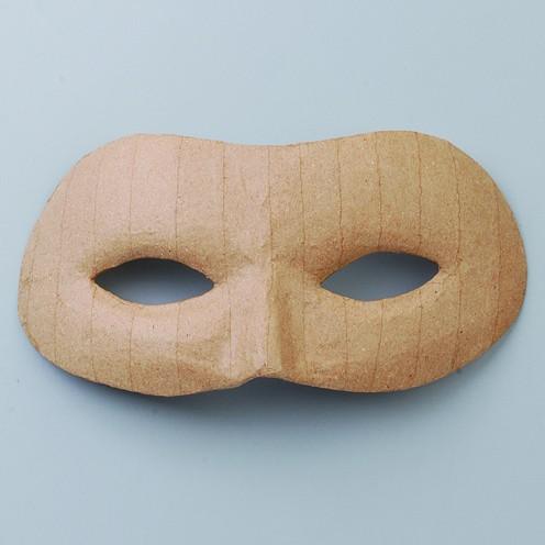 Maske Augenmaske, aus Pappmaché, 9,5 x 21,5 cm