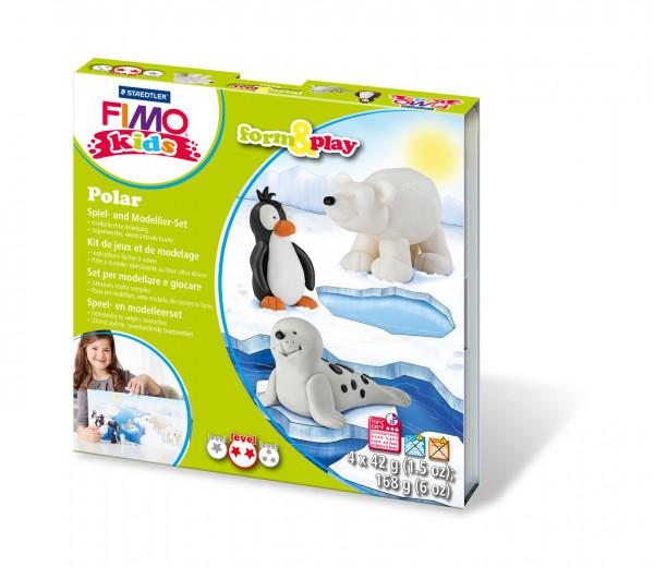 "FIMO kids form&play Set ""Polar"""
