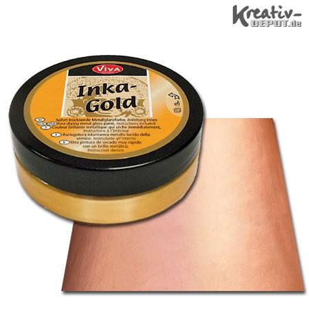 Viva Decor Inka-Gold, 62,5 g, Aprikot