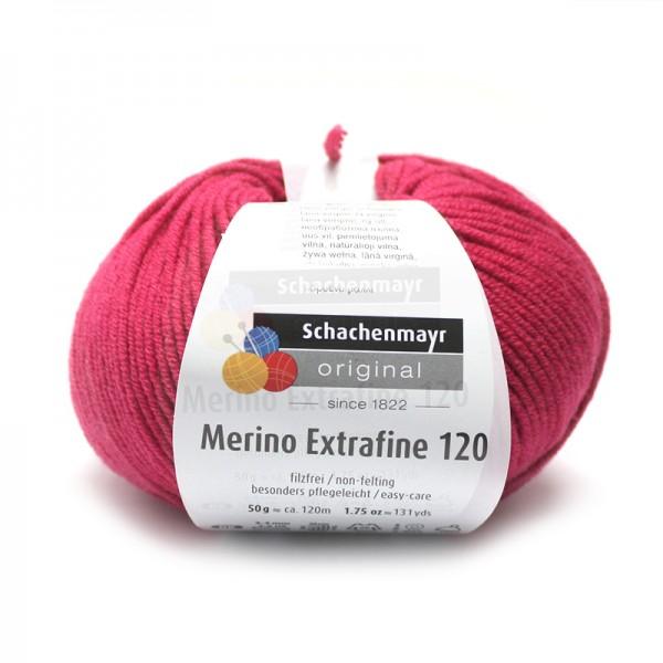 Die Schachenmayr Wolle - Merino Extrafine, cyclam