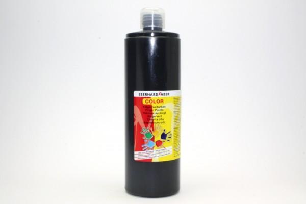 EBERHARD FABER Fingermalfarbe, 750 ml, schwarz