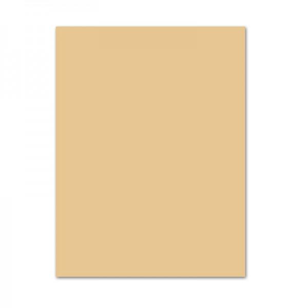 Bastelkarton, 10er Pack, 220 g/m², 50x70 cm, chamois