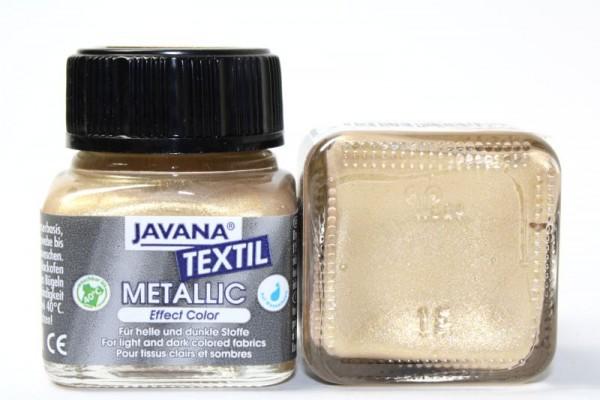 JAVANA TEXTIL METALLIC, 20 ml, Metallic-Gold