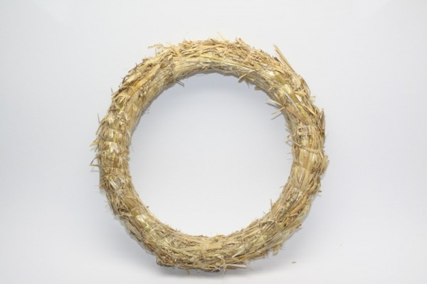 Strohkranz, Ø 25 cm, Stärke ca. 5 cm