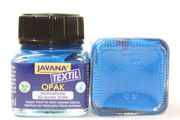 JAVANA TEXTIL Opak, für dunkle Stoffe, 20 ml, Blau